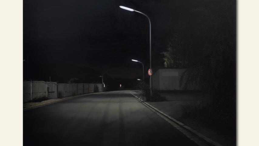 geb. 1958 in Nürnberg lebt in Nürnberg Brunecker Straße Fraktale (2017) 86 x 110 cm Öl auf Holz