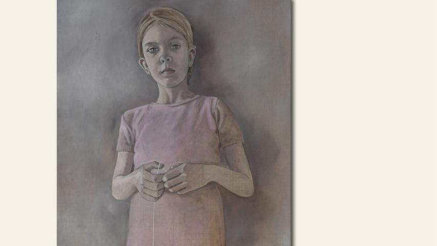 geb. 1971 in Erlangen lebt in Leipzig The Game (2017) 100 x 80 cm Öl und Tape auf Leinwand