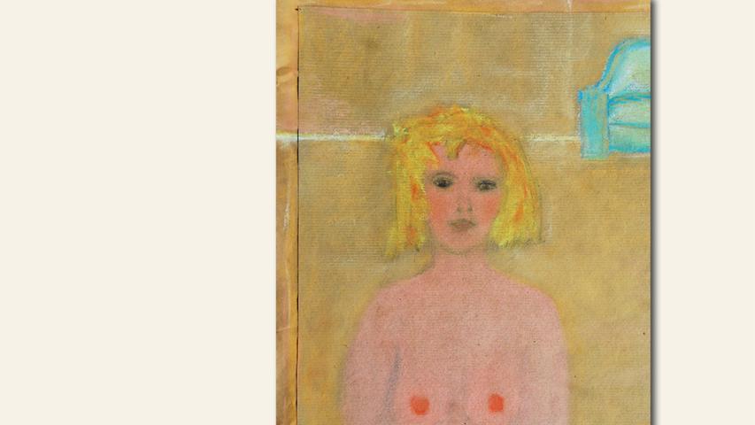 geb. 1961 in Bogen lebt in Eilsbrunn In einem ruhigen Zimmer (2019) 40 x 30 cm Kreide und Kohle auf Papier erstmals im Wettbewerb vertreten