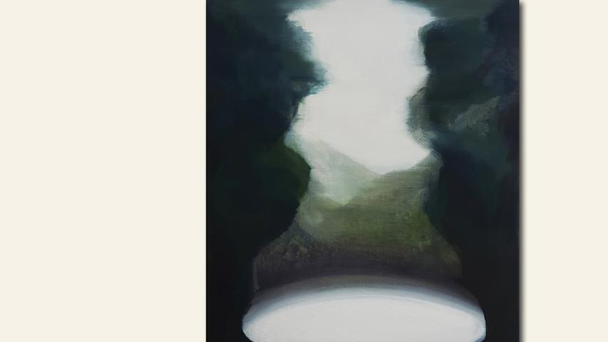 geb. 1981 in Masan, Südkorea lebt in Nürnberg Ohne Titel (2019) 50 x 40 cm Öl auf Leinwand