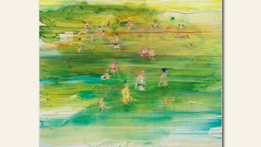 geb. 1974 in Neumarkt i. d. Opf. lebt in Neumarkt i. d. Opf. Am See (2016) 100 x 120 cm Acryl und Öl auf Leinwand erstmals im Wettbewerb vertreten