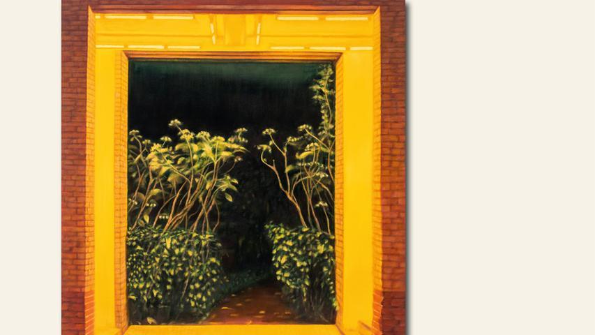 geb. 1964 in Nürnberg lebt in Berlin Pforte (2019) 230 x 200 cm Öl auf Leinwand