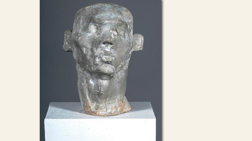 geb. 1961 in Addis Abeba, Äthiopien lebt in Nürnberg Männerkopf (2019) 22 cm hoch; 5 kg Betonguss erstmals im Wettbewerb vertreten