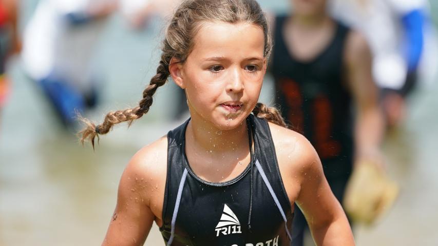 Sportlicher Nachwuchs: Kinder und Jugendliche starten beim Rothsee Triathlon