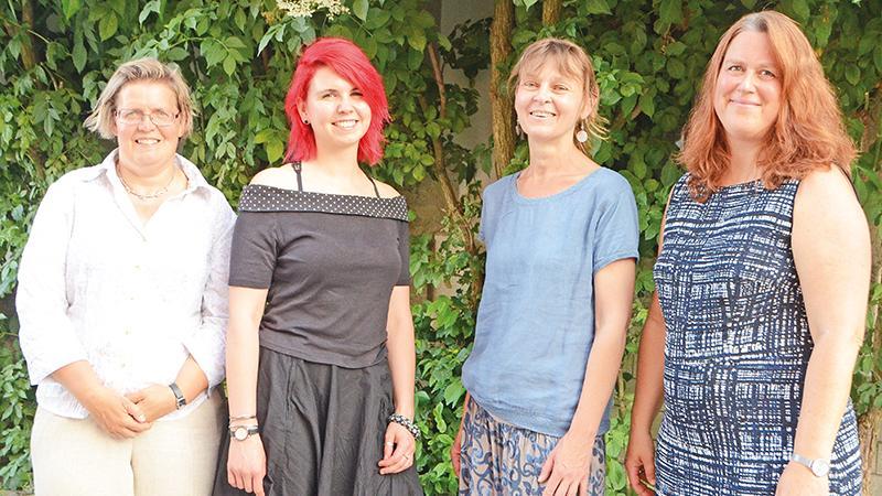 Im Team gut zusammengearbeitet: Susanne Borée, Carmen Hiller, Heike Maltz und Uta Maria Rudolph.