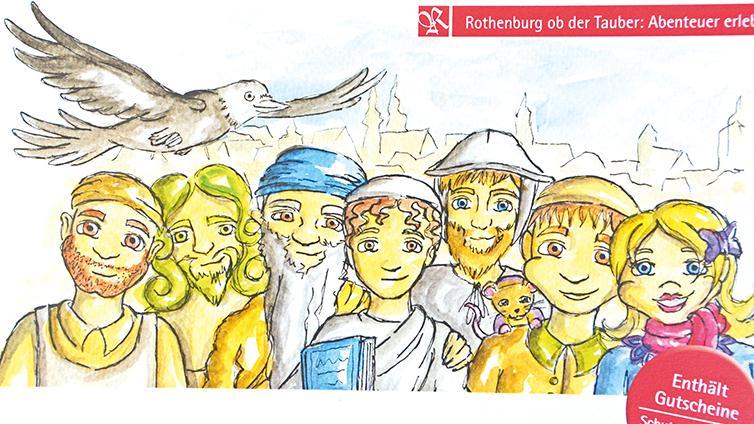 Erstmals gibt es in Rothenburg einen Stadtführer für Kinder.