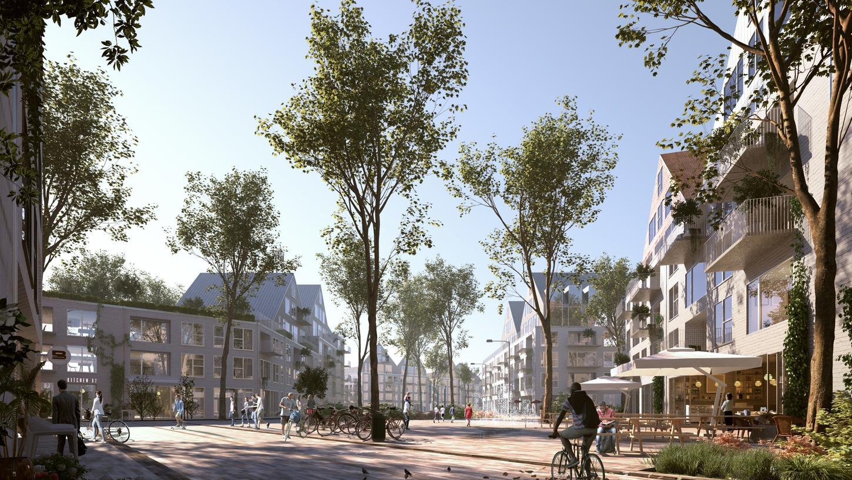 Der geplante neue Stadtteil