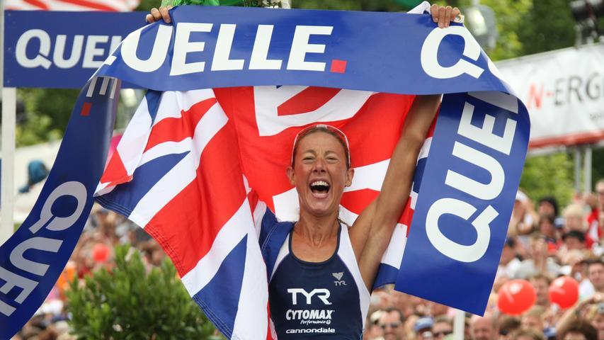 An Chrissie Wellingtons (GBR) Zeit von 8:31:59 kam 2009 keine Dame vorbei, es war ja auch eine Weltbestmarke.