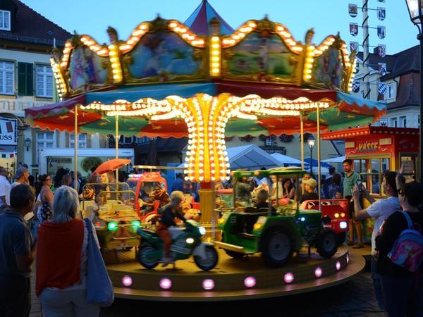 Auch für die Kleinen ist der Besuch des Bürgerfests bis in die Abendstunden hinein ein großes Vergnügen.