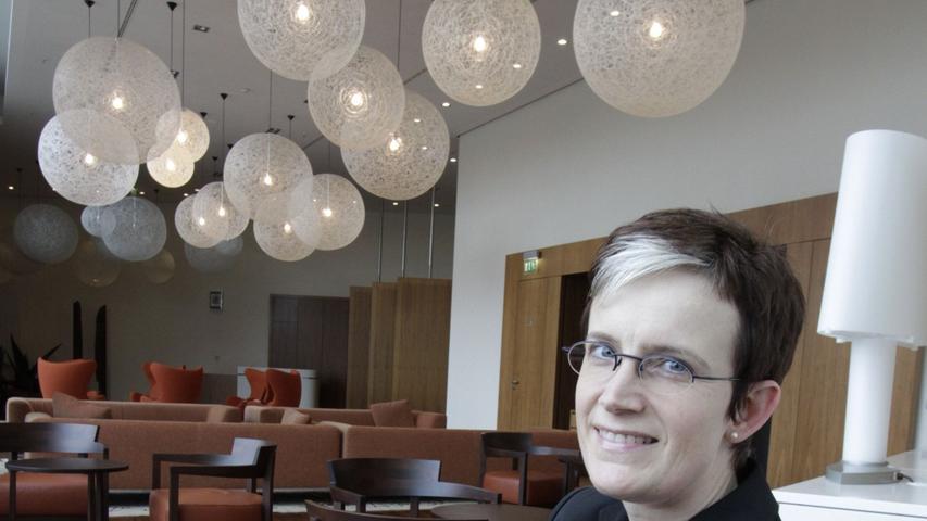 Messe-Frau Hartmann: Die strenge Dame lacht gern