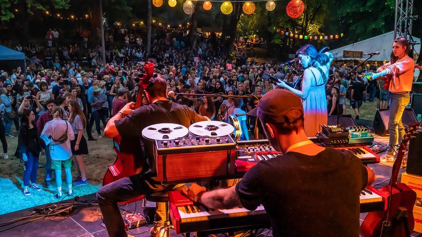 Waldstock 2019: So war das Festival am Freitag