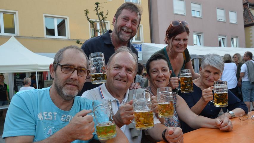 Sonne und Spaß: Das Bürgerfest 2019 in Gunzenhausen
