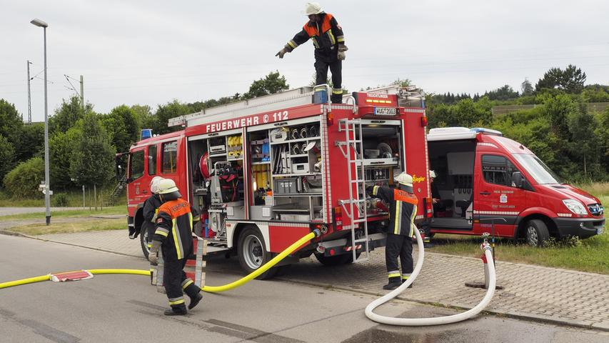 Inspektion der Freiwilligen Feuerwehr Treuchtlingen