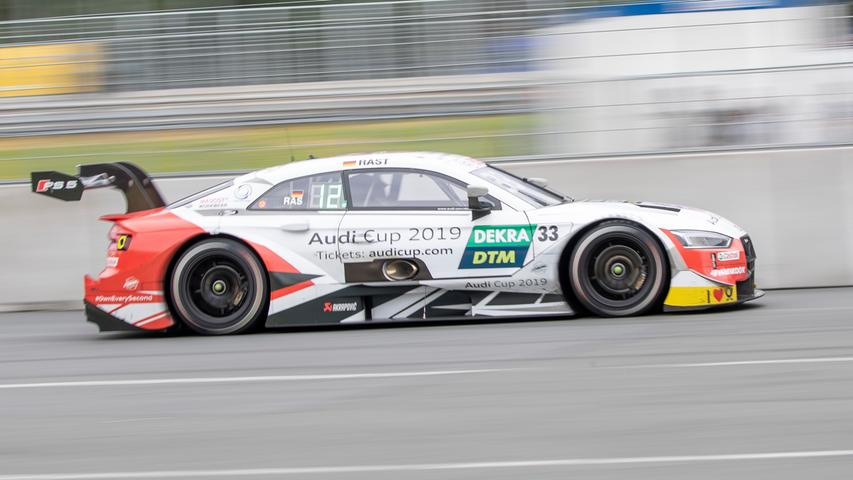 07.07.2019 --- Motorsport --- Rennwochenende Norisring Nürnberg 2019 --- Foto: Sport-/Pressefoto Wolfgang Zink / HMB --- ..Rene Rast (Audi Sport Team Rosberg / Audi RS 5 DTM, #33)