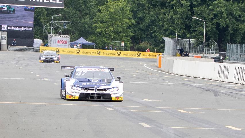 07.07.2019 --- Motorsport --- Rennwochenende Norisring Nürnberg 2019 --- Foto: Sport-/Pressefoto Wolfgang Zink / HMB --- ..Joel Eriksson (BMW Team RBM / BMW M4 DTM, #47)