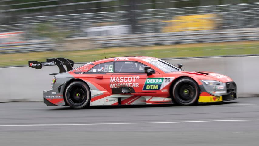 07.07.2019 --- Motorsport --- Rennwochenende Norisring Nürnberg 2019 --- Foto: Sport-/Pressefoto Wolfgang Zink / HMB --- ..Loic Duval (Audi Sport Team Phoenix / Audi RS 5 DTM, #28)