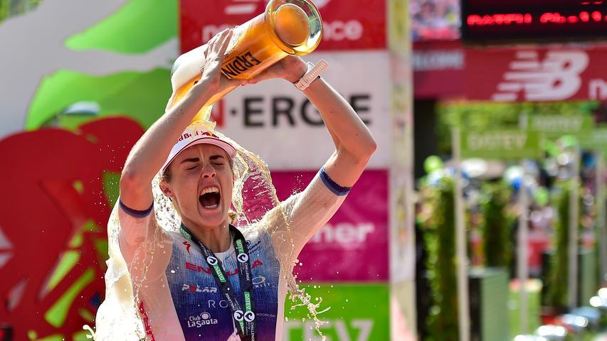 2018 noch auf Platz zwei, 2019 dann der Sieg: Lucy Charles-Barclay (GBR) brauchte für ihren Triumph in Roth 8:31:09 Stunden.