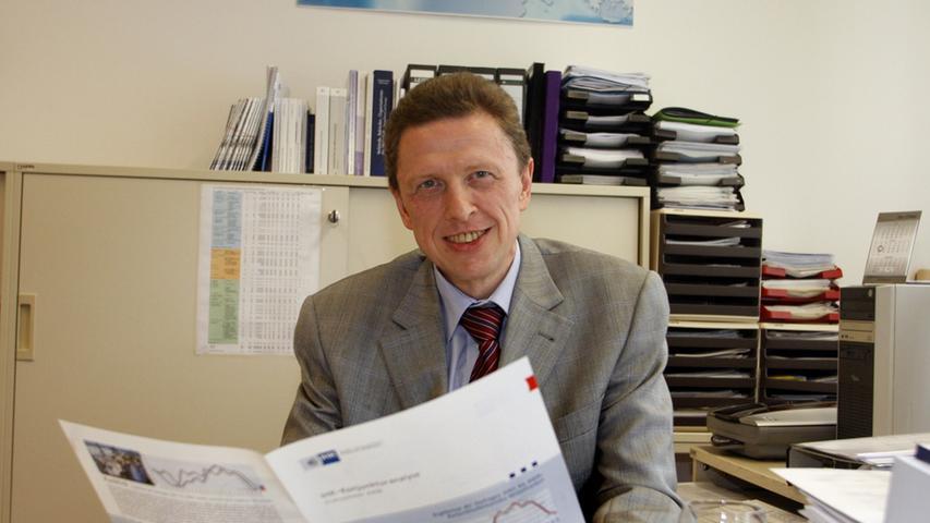 Udo Raab: Bodenständiger Volkswirt mit Faible für englische Krimis
