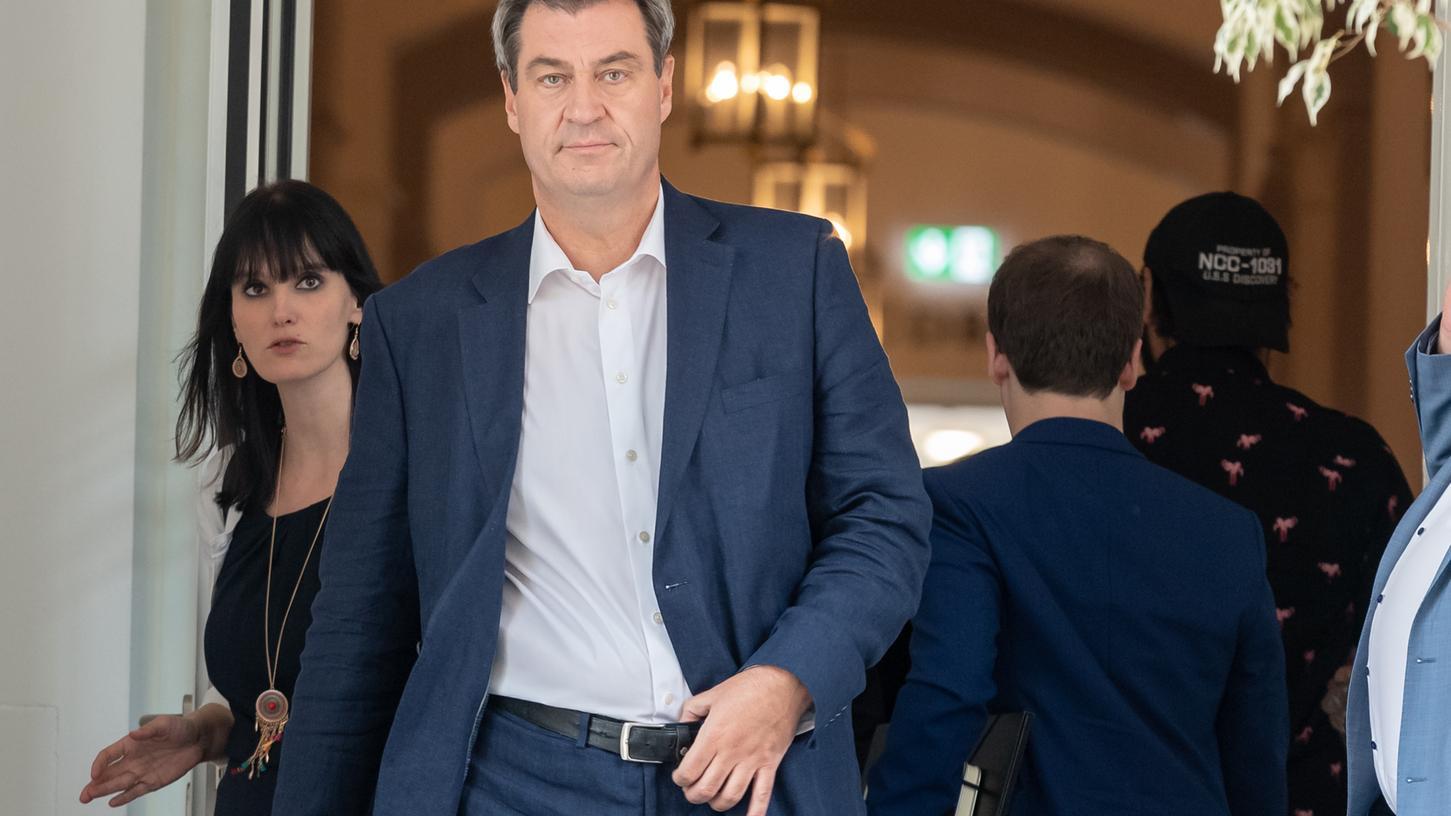Der bayerische Ministerpräsident Markus Söder hat am Montag kategorisch ausgeschlossen, dass es in Bayern ein Atommüllendlager geben werde.