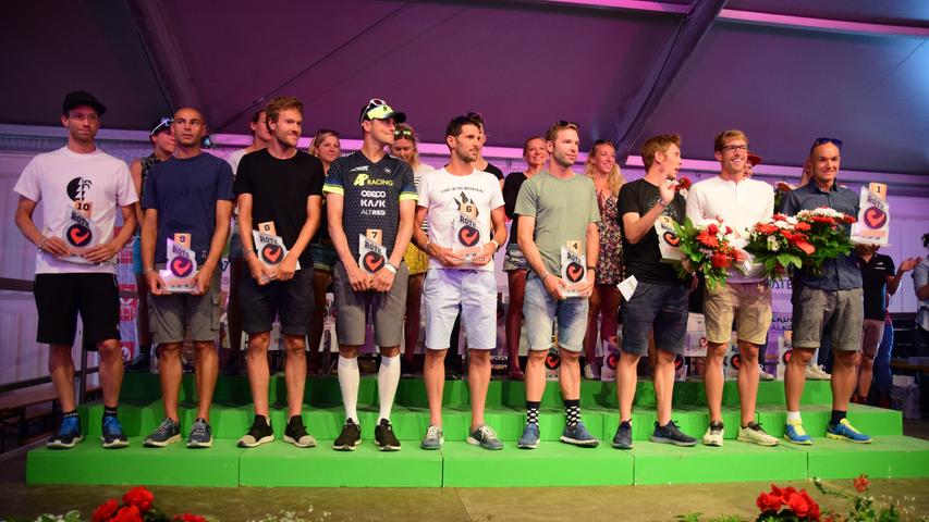 This is what winners look like!  The big award ceremony of Challenge Roth 2019