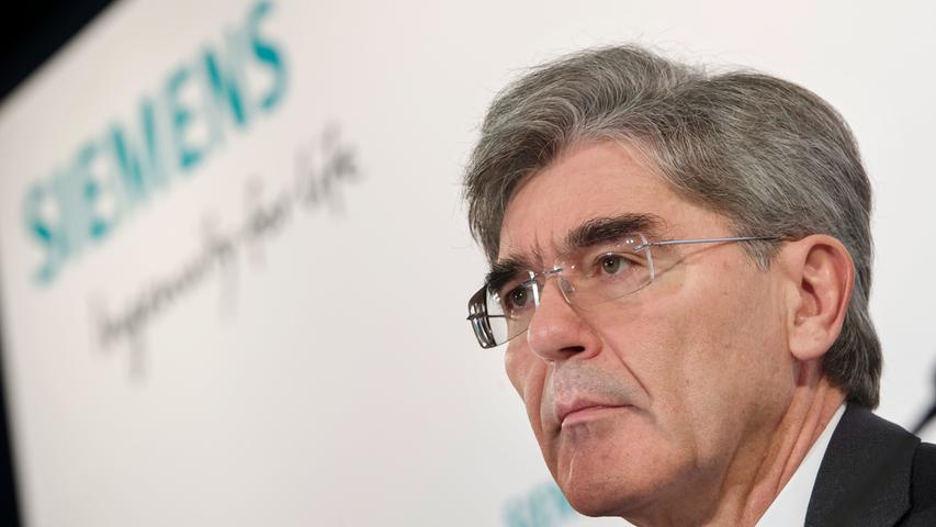 Joe Kaeser steht seit Sommer 2013 an der Spitze von Siemens - und baut den Konzern seitdem nach Kräften um. Doch wer glaubt, das sei für den heute größten privaten Arbeitgeber Nordbayerns die erste Neuausrichtung, der irrt. Bei Siemens ging es schon immer hoch her, wie der Blick in die Geschichte zeigt.