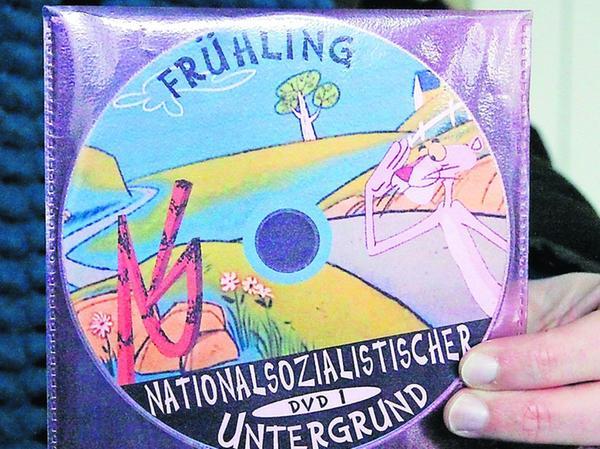 Das Bekenntnis: Diese DVD wurde bei den Nürnberger Nachrichten abgegeben.