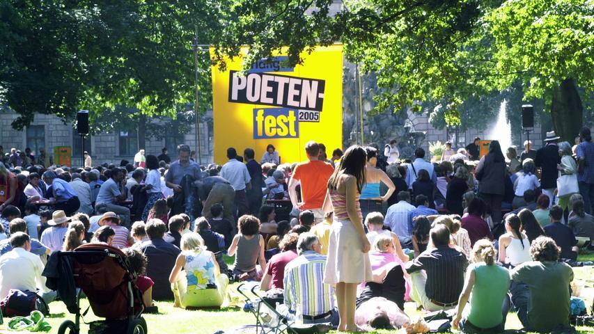 Das Programm zum Erlanger Poetenfest
