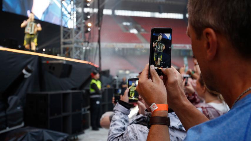 Nürnberg , 13.07.2019..Ressort: Feuilleton Fotografie: Stefan Hippel..Max-Morlock-Stadion , Konzert Andreas Gabalier