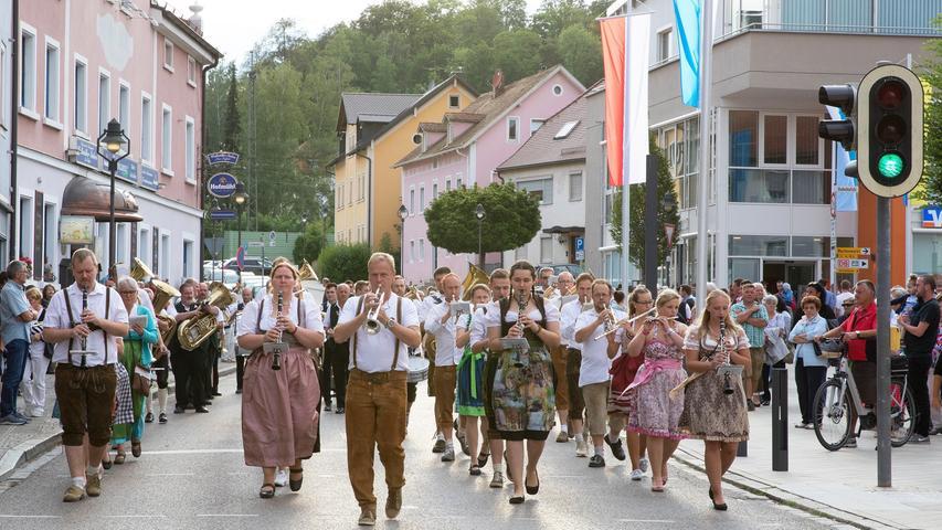 Volksfest Auftakt Treuchtlingen 12.07.2019 Christoph Aurnhammer