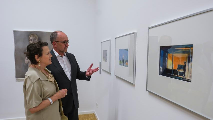 Lokales/Feuilleton..Foto: Günter Distler..Motiv: NN-Kunstpreis 2019; Preisverleihung und Ausstellungseröffnung; 17.09.2019.; ; Dr. Siegfried Zelnhefer, Chef Presseamt der Stadt Nürnberg