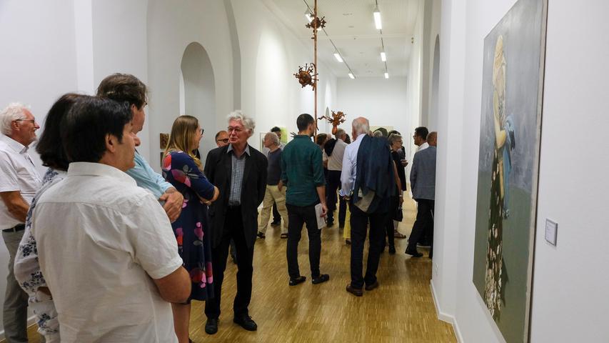 Lokales/Feuilleton..Foto: Günter Distler..Motiv: NN-Kunstpreis 2019; Preisverleihung und Ausstellungseröffnung; 17.09.2019