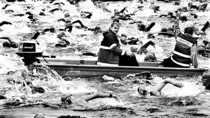 Erlanger Triathlon: Eine Zeitreise zum Jubiläum