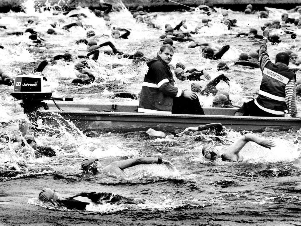 Motiv: Erlanger Triathlon.Ressort: Erlangen.Foto: Harald Hofmann.Bildgröße:16,9x11