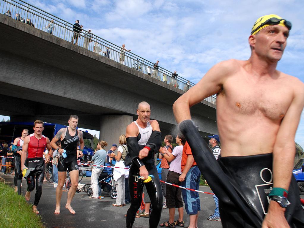 Motiv: Triathlon..Ressort: Erlangen..Foto: Harald Hofmann..Bildgröße: