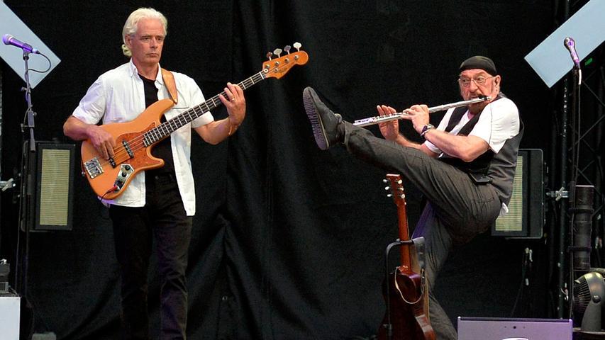 Hammer-Riffs und Flöten-Töne bei der Classic Rock Night am Dechsendorfer Weiher