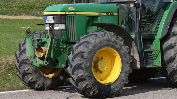 Teuere Bauteile von Traktoren gestohlen