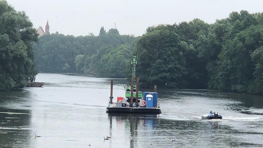 Bombe im Wöhrder See: