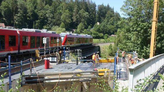 Brücke in Enzendorf bald zum Einschub bereit
