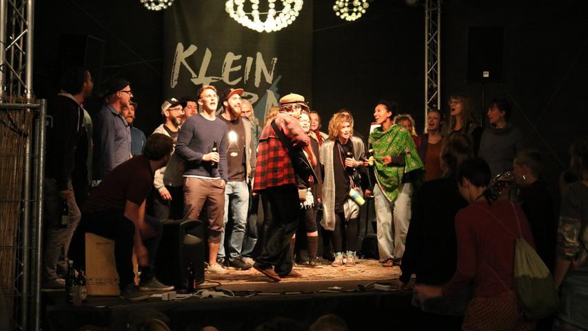 Fiva, Bim und der Kneipenchor: Das Weinturm-Festival am Samstag