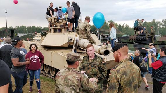 Grafenwöhr und Vilseck: Warnstreiks auf US-Truppenübungsplätzen - Nordbayern.de