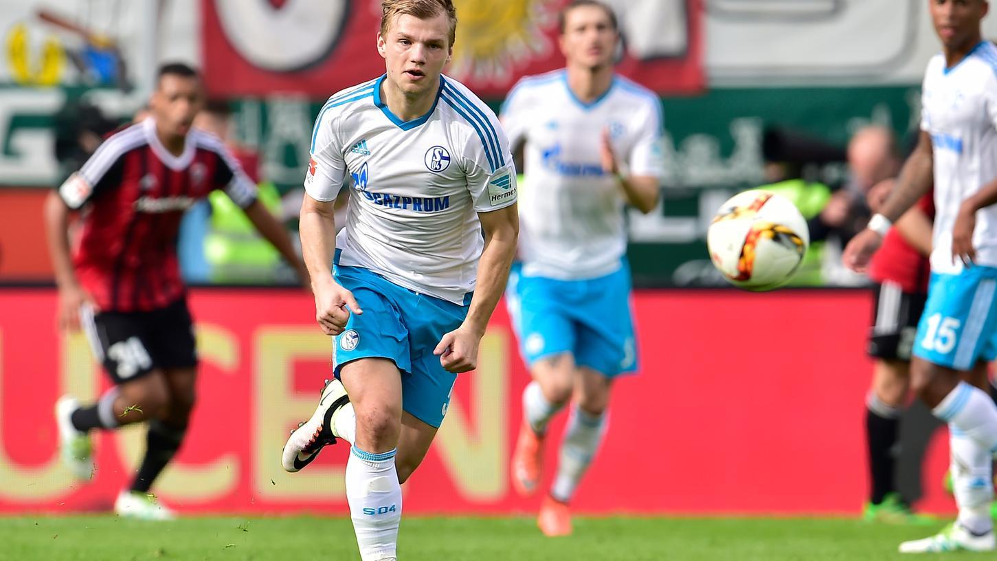 In der Saison 2015/16 rannte Johannes Geis noch für Schalke 04: Bald wird er für den FCN zum Einsatz kommen.