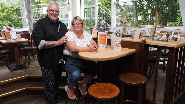 Olli Greiner und seine Frau Katja haben das Bistro