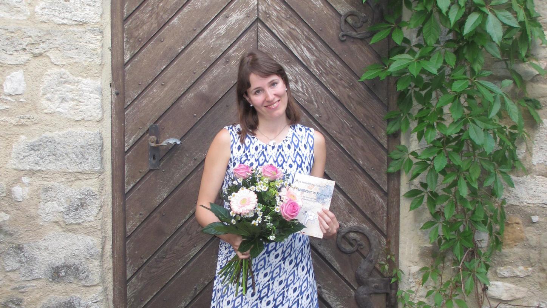Anja Mäderer aus dem Gunzenhäuser Ortsteil Unterwurmbach heimste mit ihrer Fassung der Sage vom