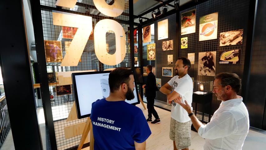 Mit Pharrell, Lahm und Riesenrad: Adidas feiert Jubiläum
