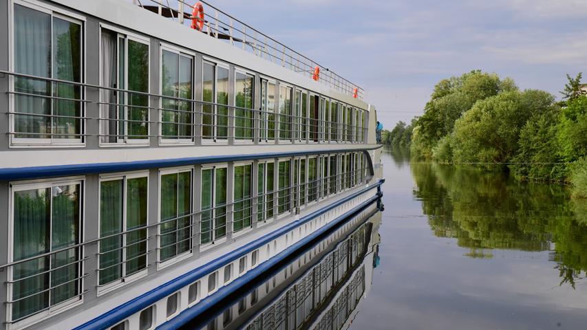 Forchheim: Anlegestelle für Flusskreuzfahrten ist eingeweiht