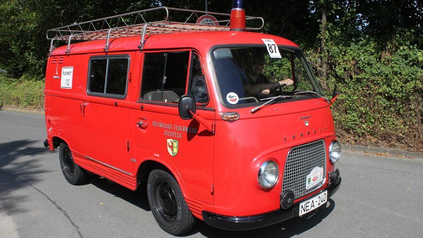 1963 schaffte die Gemeinde Diespeck im Aischgrund einen Ford vom Typ