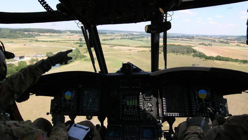 In der Luft mit einem Giganten: US-Militärheli im Lärm-Test