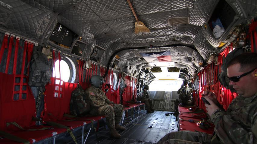 Das Innere des Chinook
