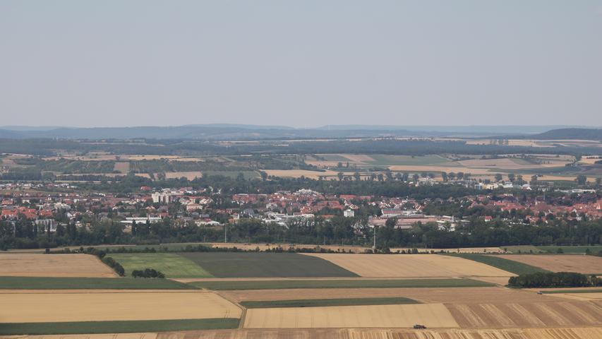 Blick auf dem Bad Windsheimer Westen