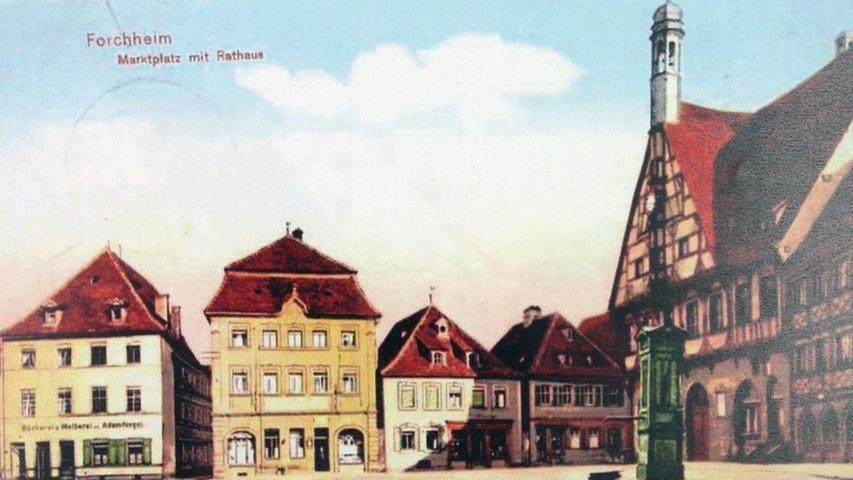 Von 1903 bis 1952: Forchheims Innenstadt im Wandel der Zeit